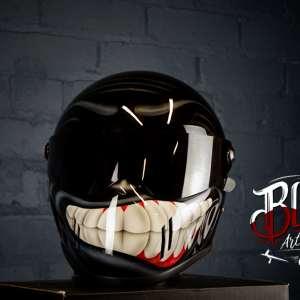 Blaze ArtWorks Skull Reaper Helmet