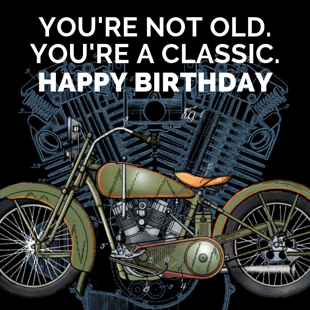 You're not old happy birthday meme