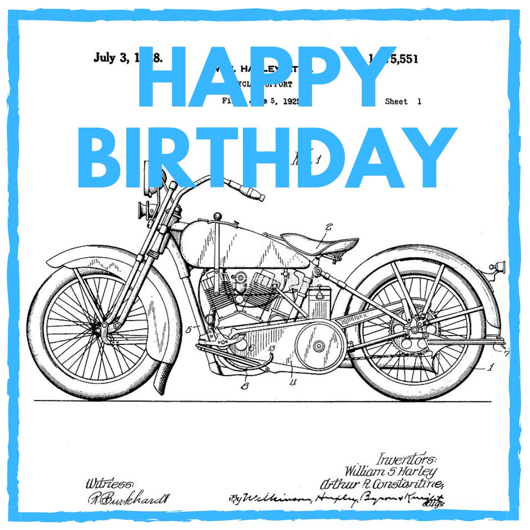 Motorcycle Birthday Meme