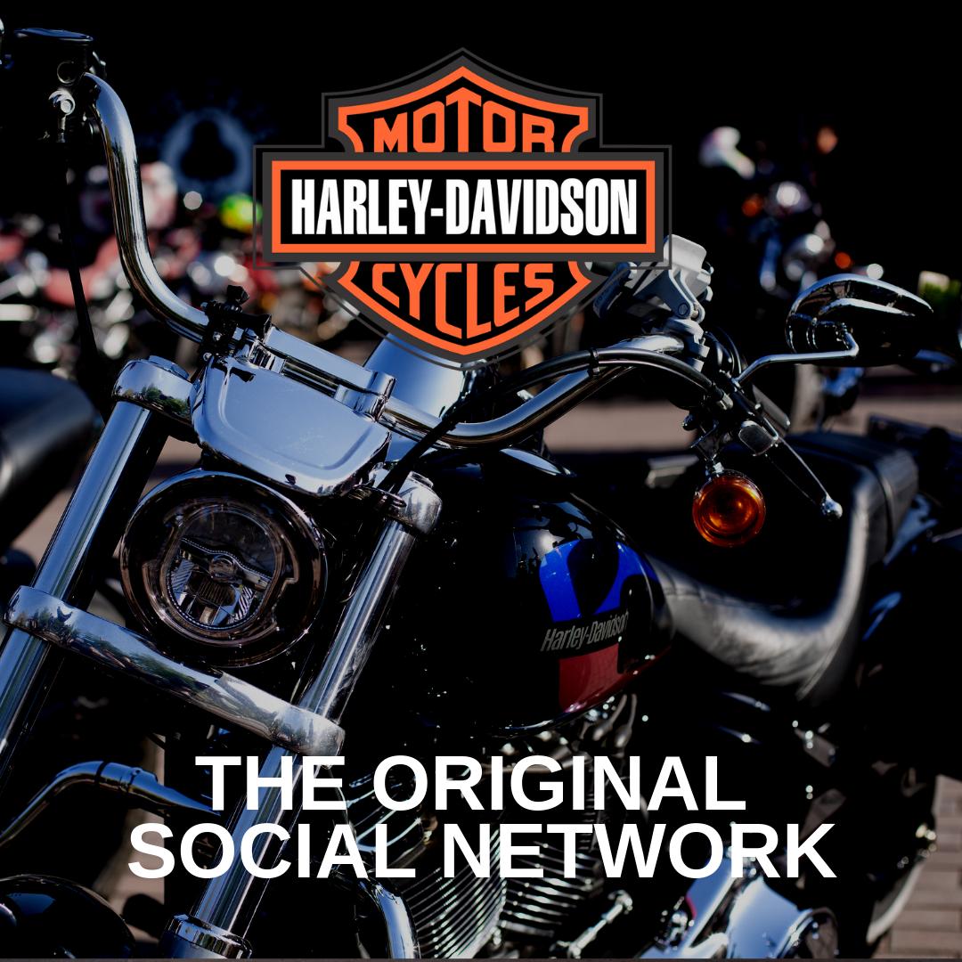Harley Davidson. Le réseau social original