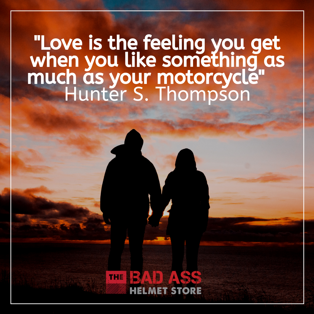Citation de moto par Hunter S Thompson