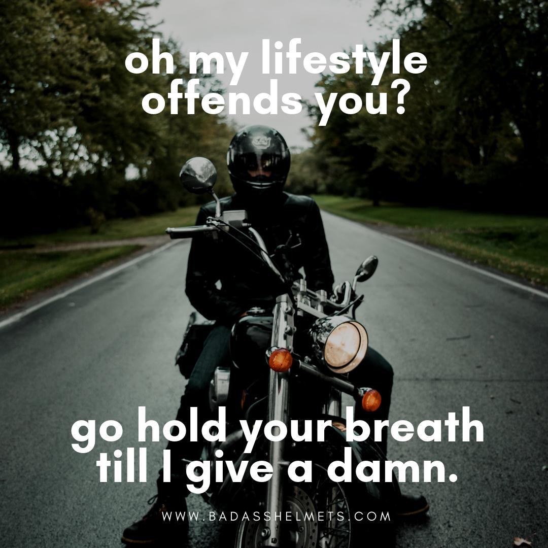 Motorcycle Lifestyle Funny Meme