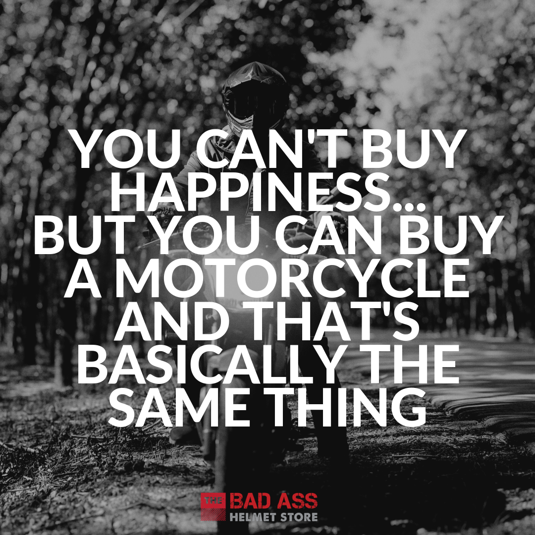 Can't Buy Happiness Motorcycle Meme