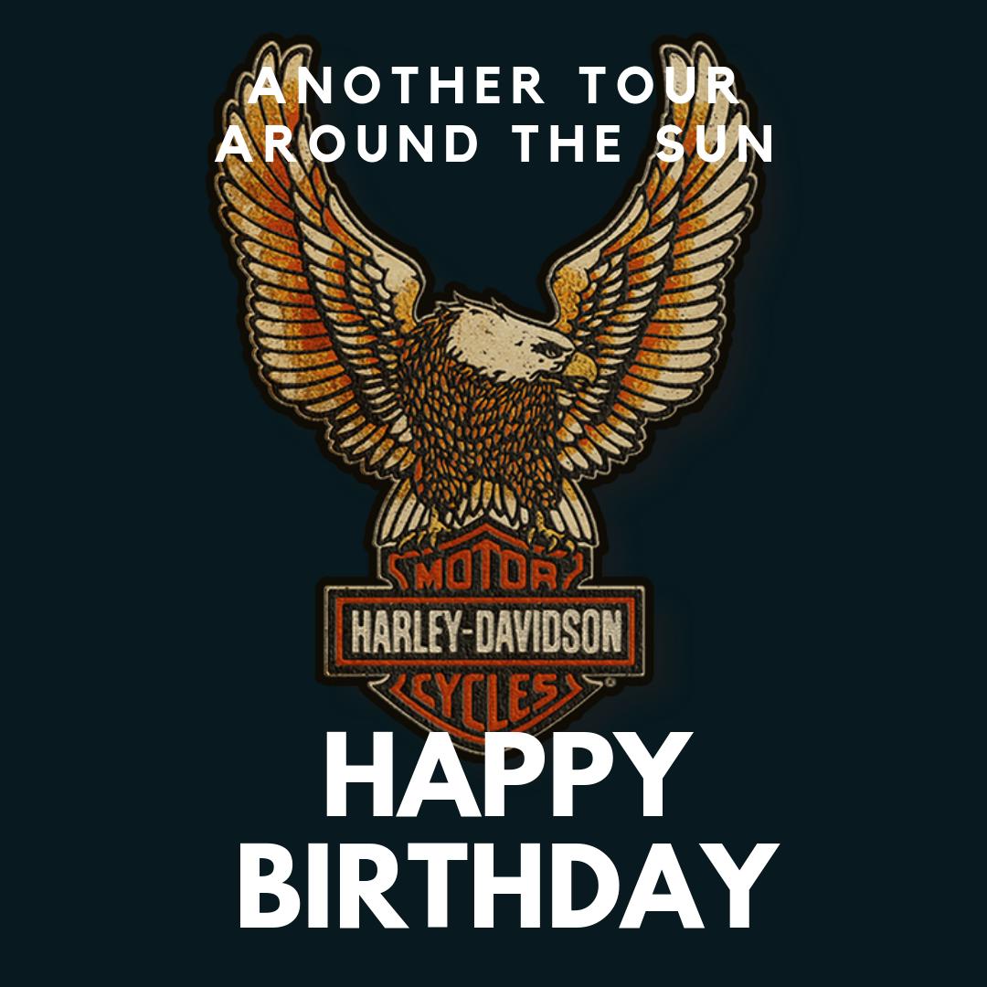 Meme anniversaire Harley-Davidson