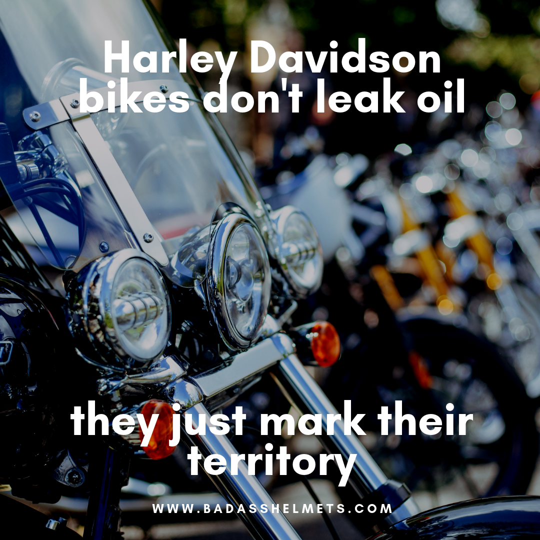 Harley's Mark Their Territory Quote