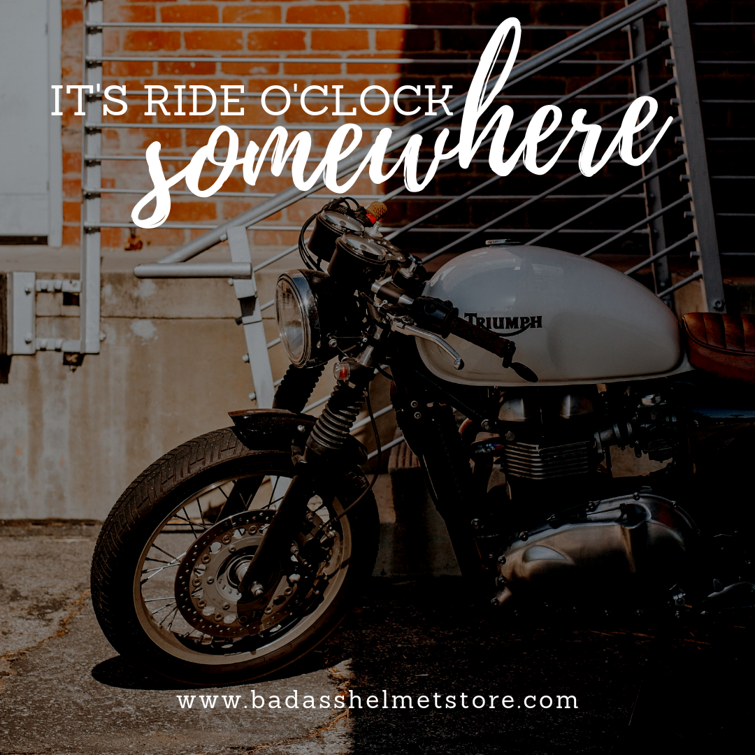 It's Ride O'Clock Somewhere