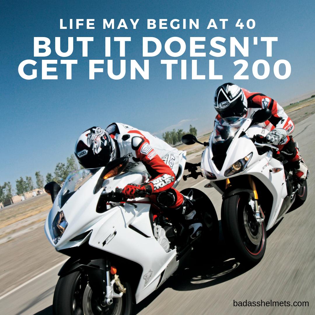Funny Birthday Motorcycle Meme