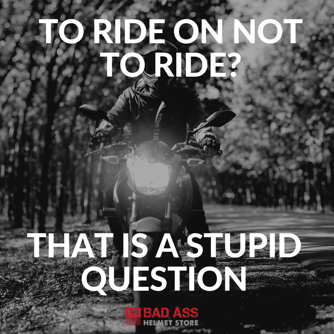 Funny Motorcycle Riding Question Meme