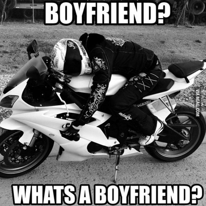 whats a boyfriend biker chick meme