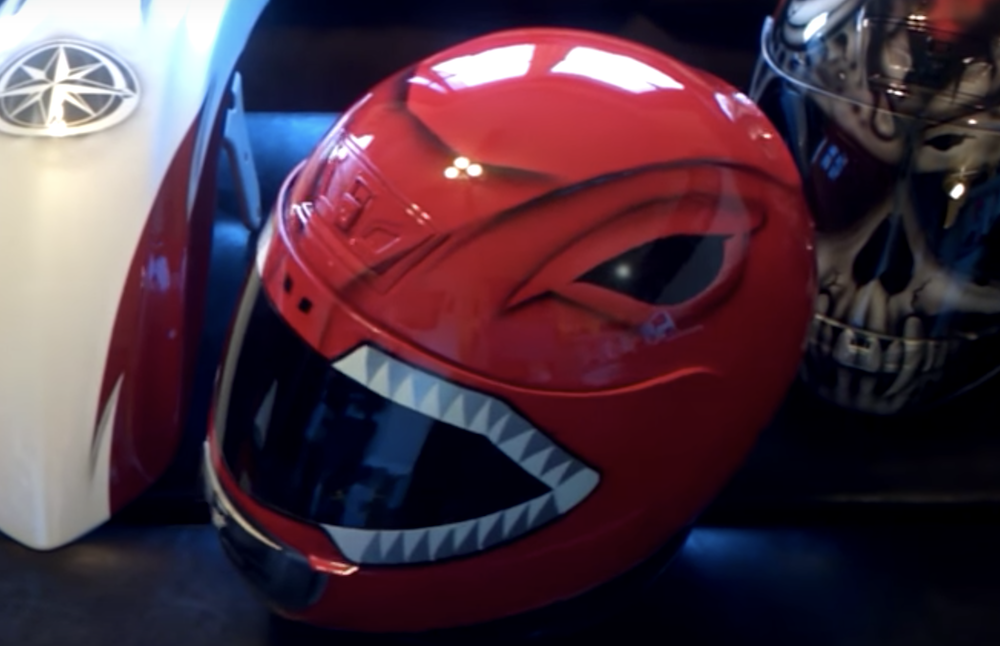 Power Rangers Motorcycle Helmet