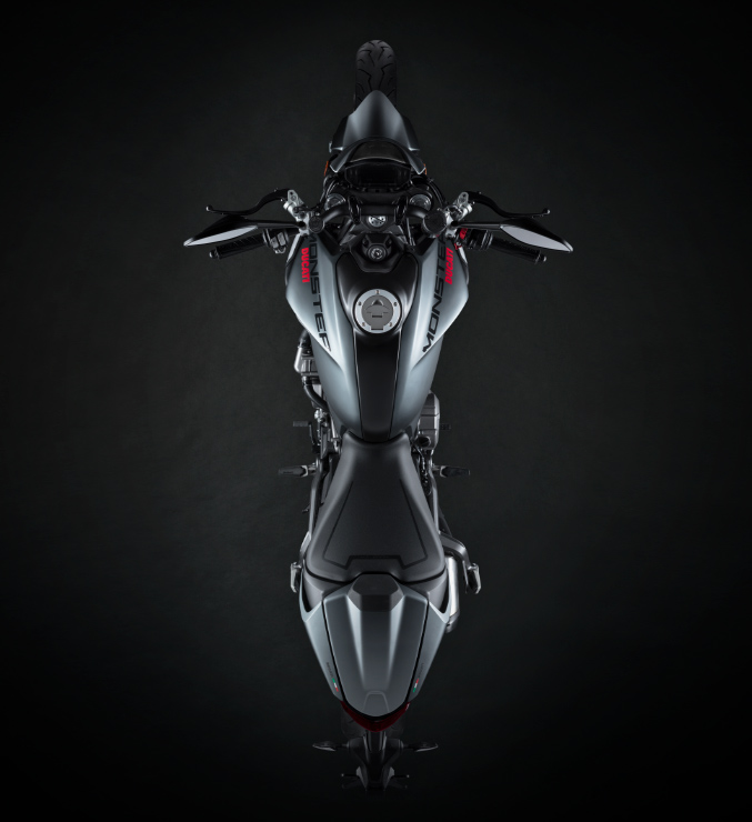2021 Ducati Monster 937 Top View