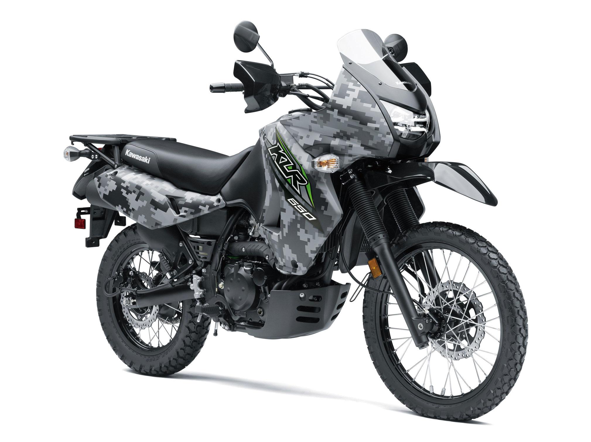 2018 Kawasaki KLR650 Camo Edition