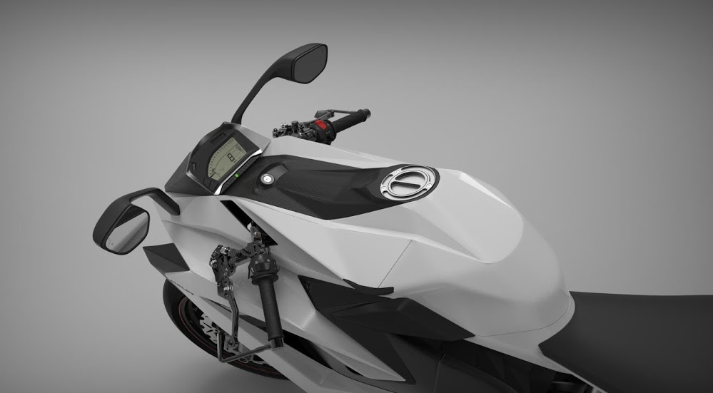 Chak Molot gauge and handlebars rendering