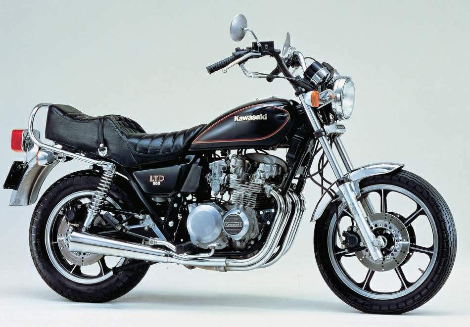 Kawasaki KZ550 LTD
