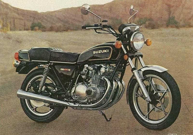 Suzuki GS550E Promotional Image