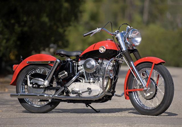 958 Harley-Davidson Sportster