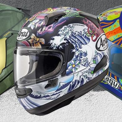 14 Helmets With Badass Graphics