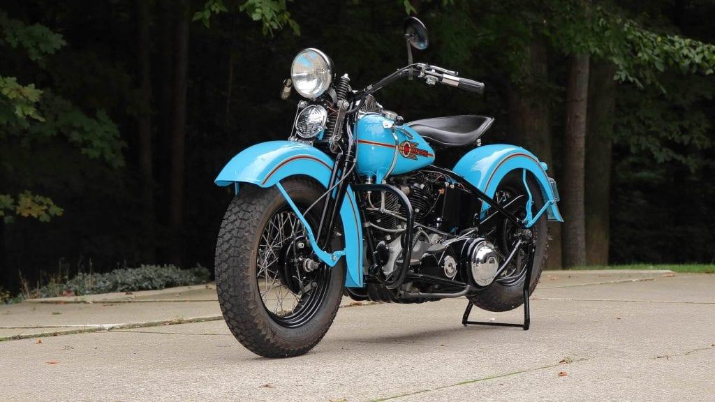 "Harley-Davidson EL ""Knucklehead"""