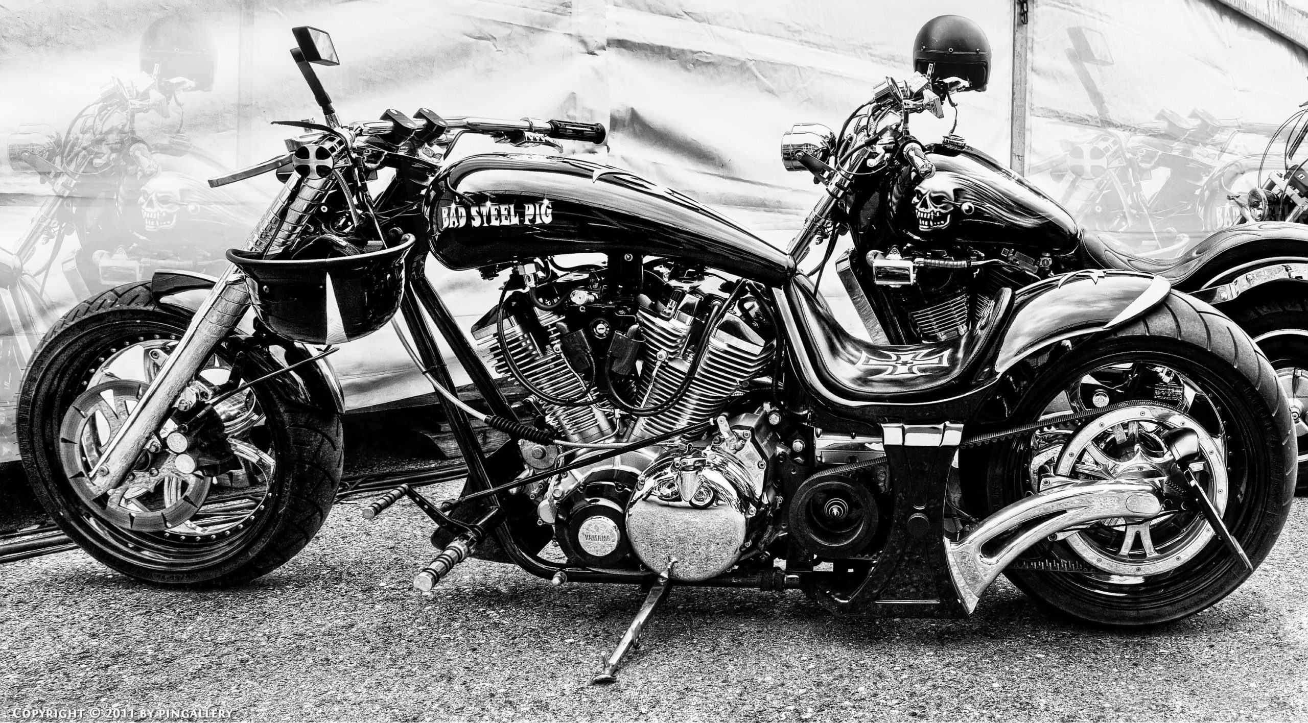 Old School Harley Davidson Motorcycle Wallpapers