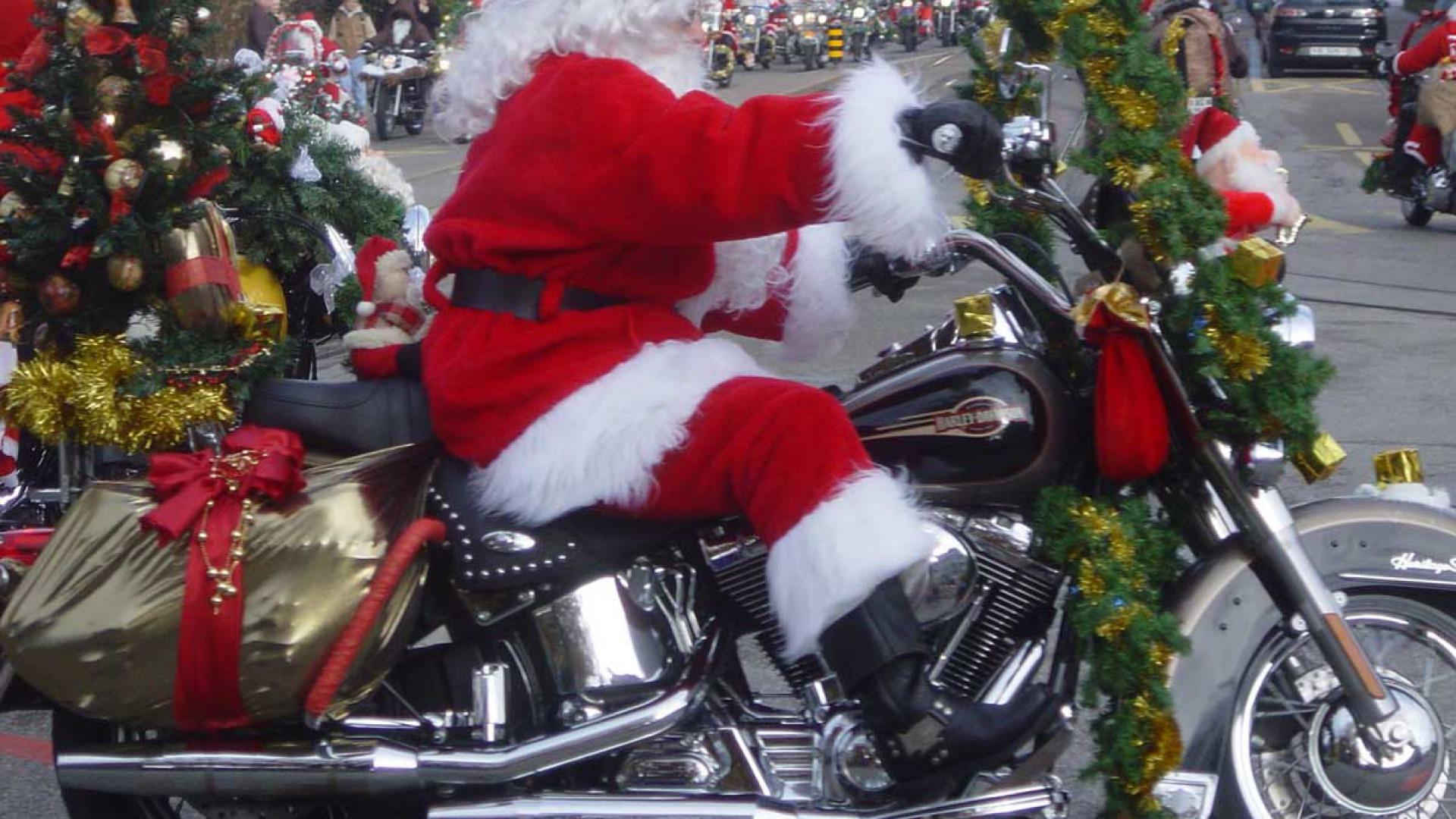 Harley Davidson Christmas Wallpapers
