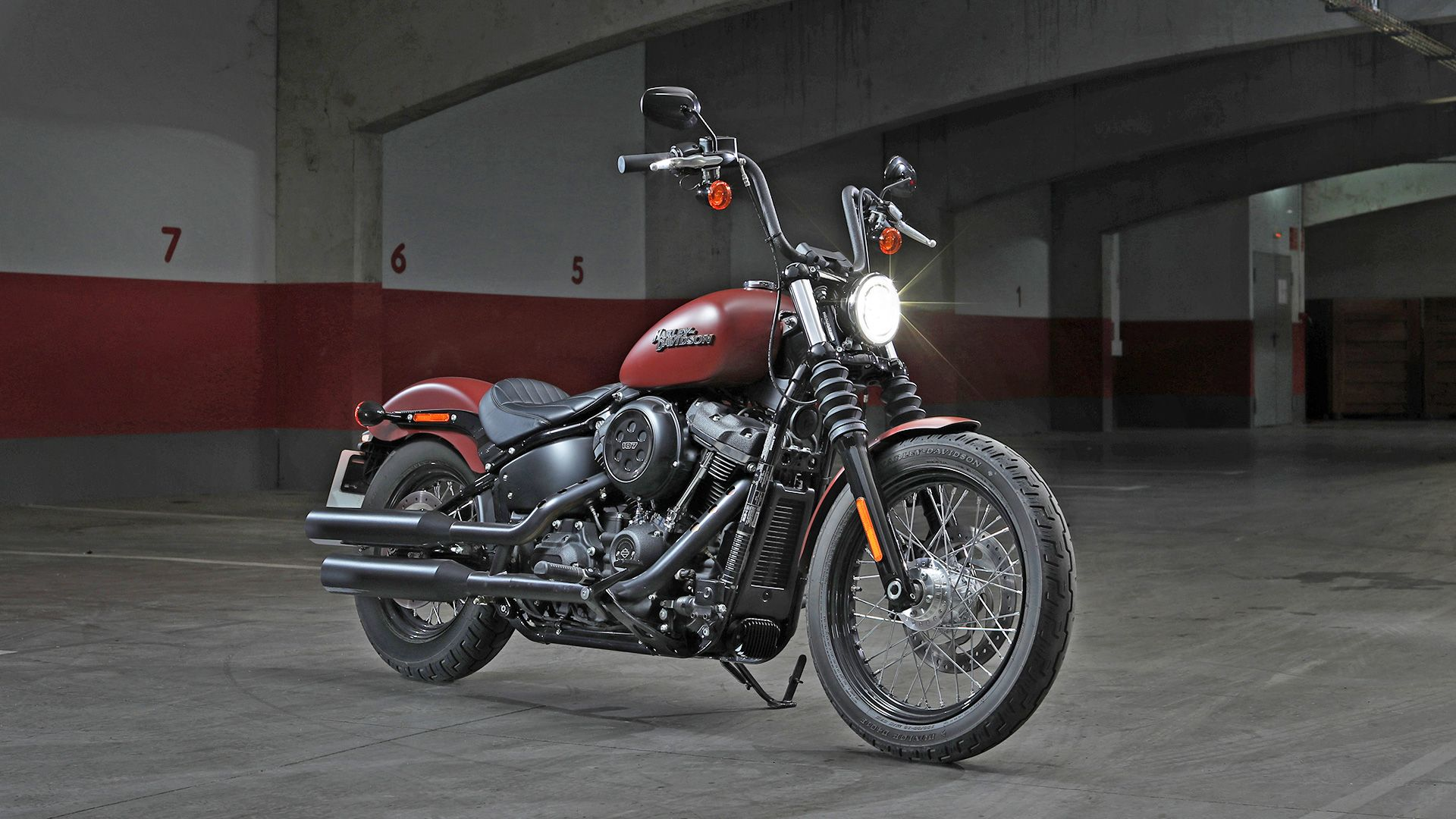 Harley Davidson Street Bob Wallpapers