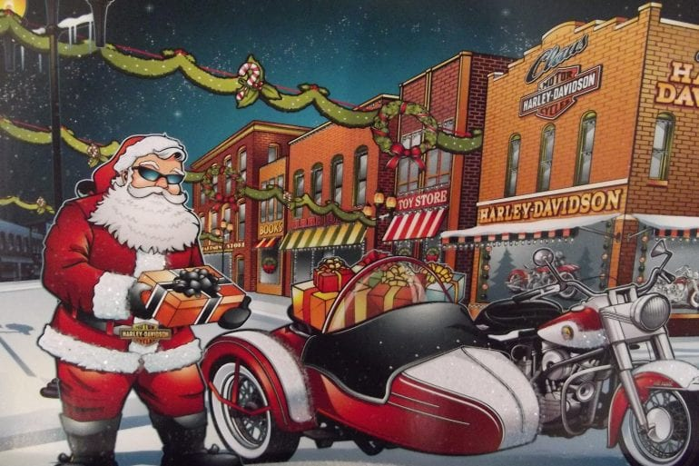 Harley Davidson Christmas Wallpapers