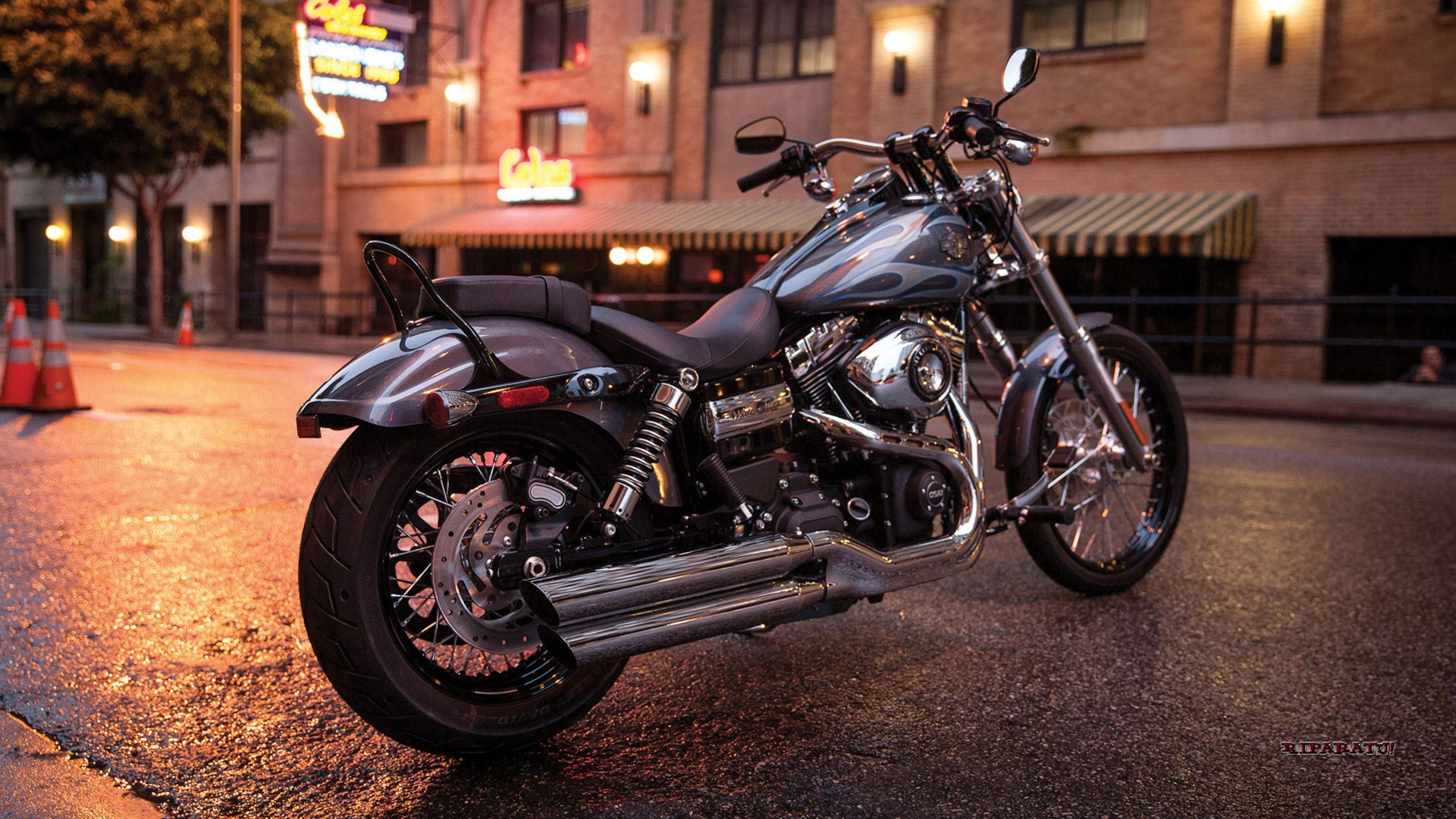 Harley Davidson Dyna Wide Glide Wallpapers
