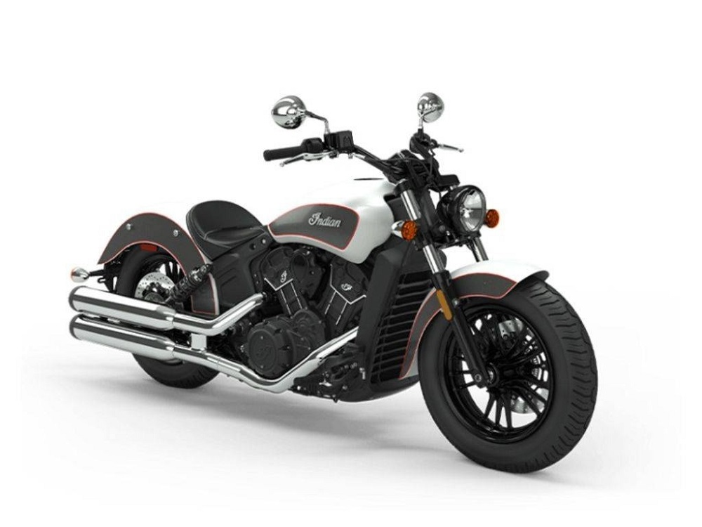 2020 Indian Scout Sixty Front 3/4