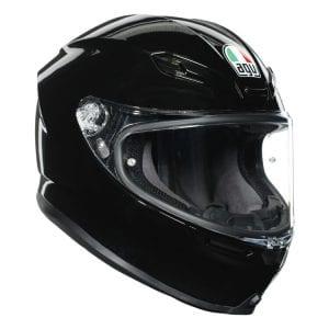 Black AGV K6 helmet