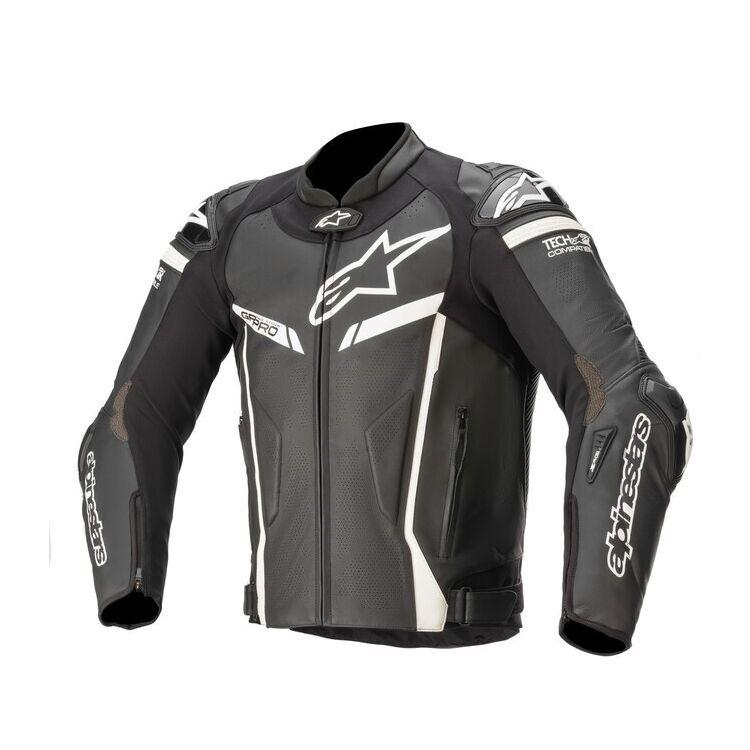 Black and grey Alpinestars GP Pro v2 Jacket