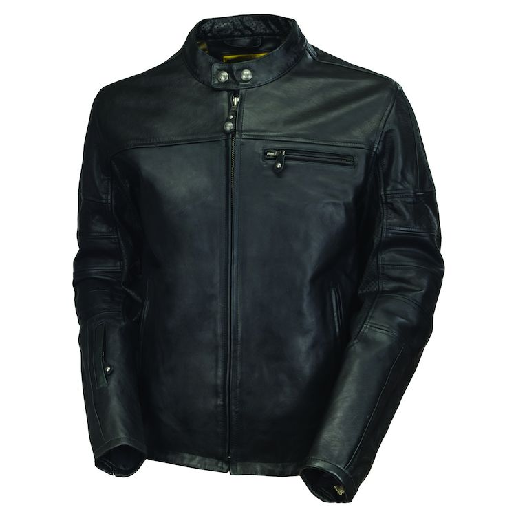 Black Roland Sands Ronin Leather Jacket