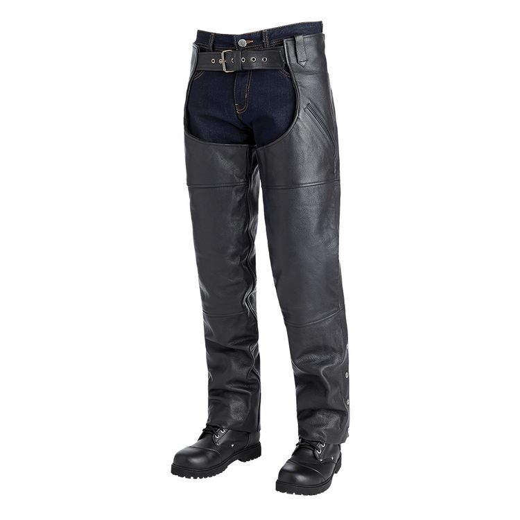 Street & Steel Richmond Leather Chaps
