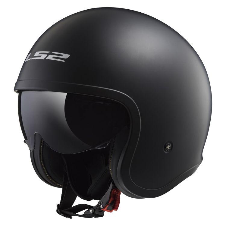 Black LS2 Spitfire helmet