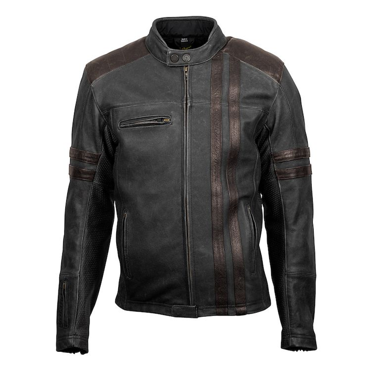 Scorpion EXO 1909 Leather Motorcycle Jacket