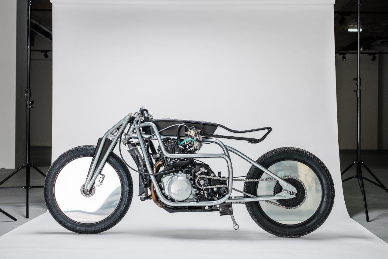 Custom BMW motorcycle from Germany's Krautmotors