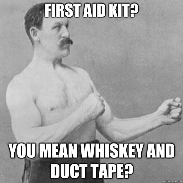 Motorcycle First Aid meme