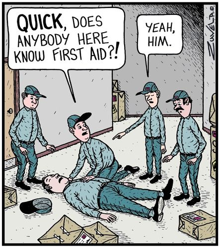Why it's good to have more than one first aider