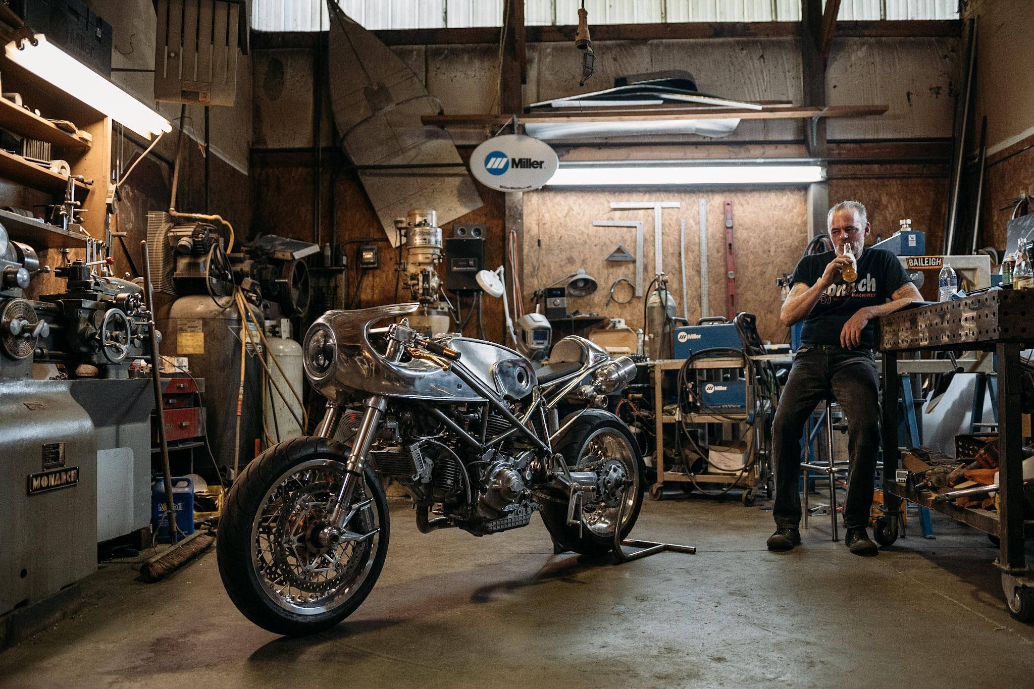 Craig Rodsmith in his Chicago workshop