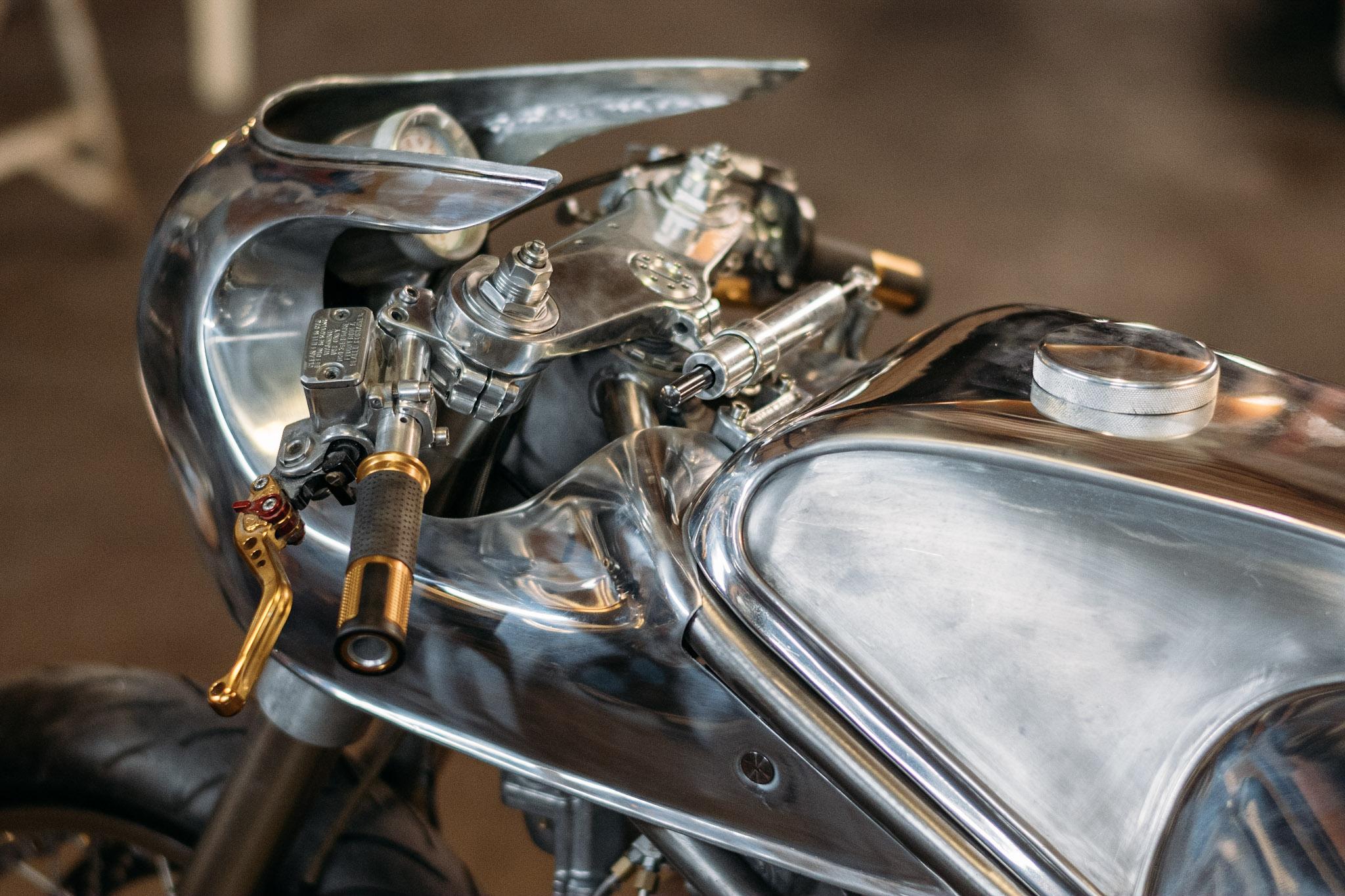 craig Rodsmith's custom supercharged Ducati