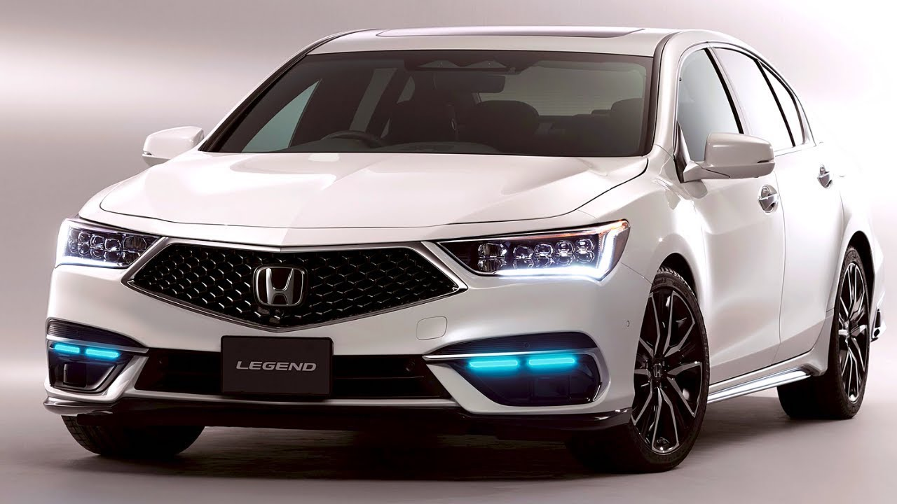 A view of the first CASE equipped, level 3 autonomous vehicle, the 2021 Honda Legend Hybrid