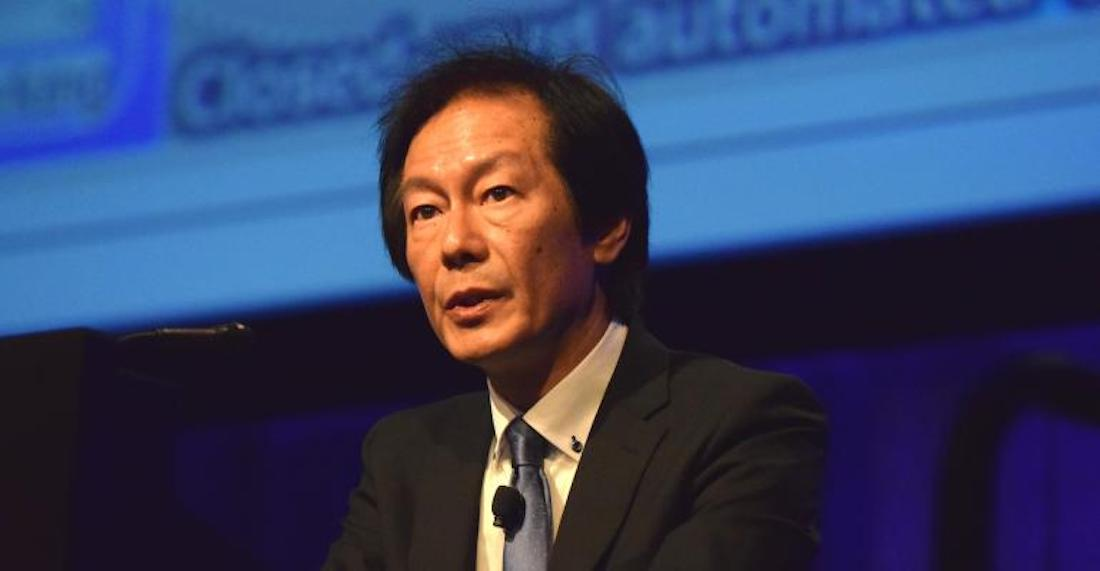 A view of Toshio Yokoyama regarding a free-flowing, interconnected network between cars and bikes focused on safety and autonomous functions