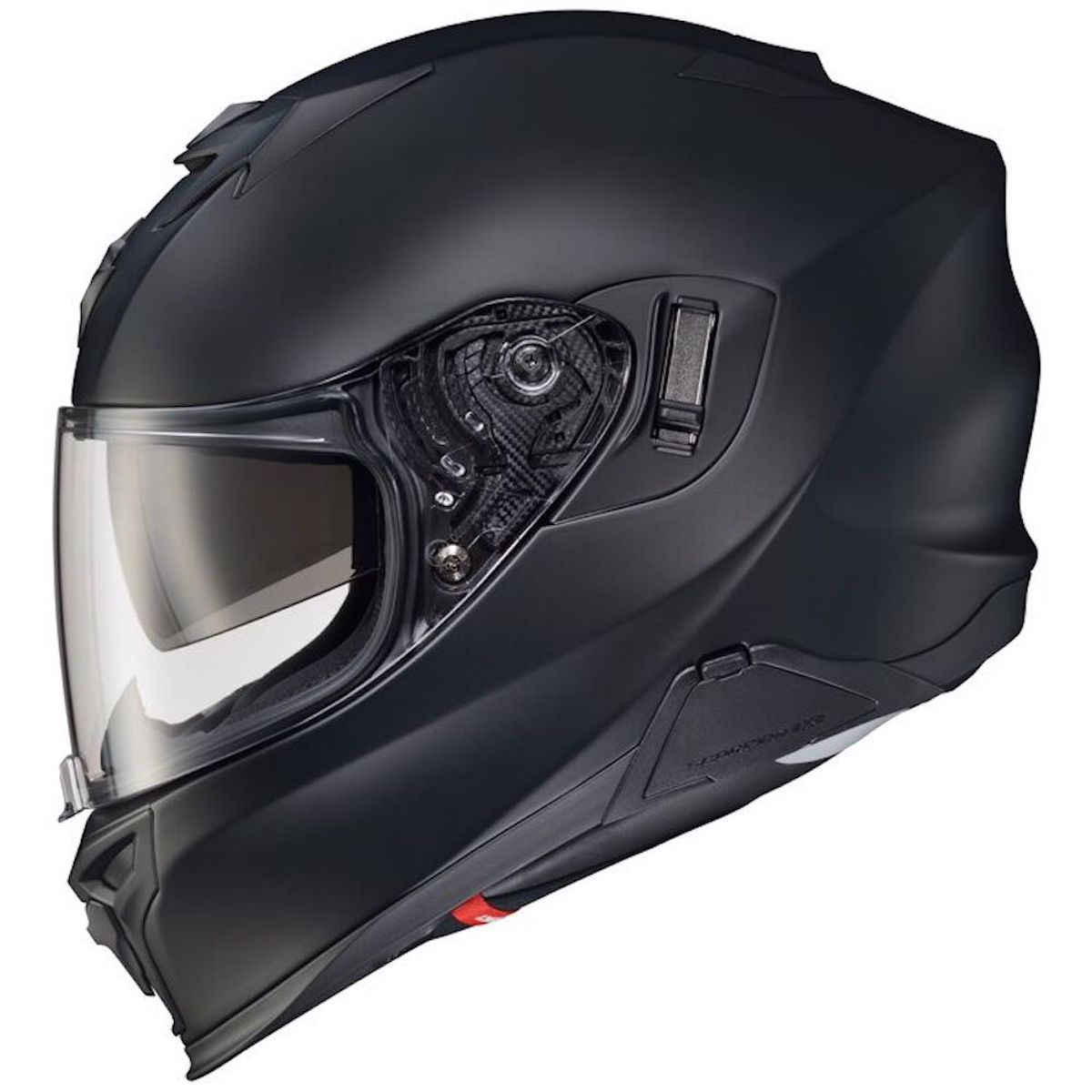 A view of a Scorpion EXO-T520 helmet