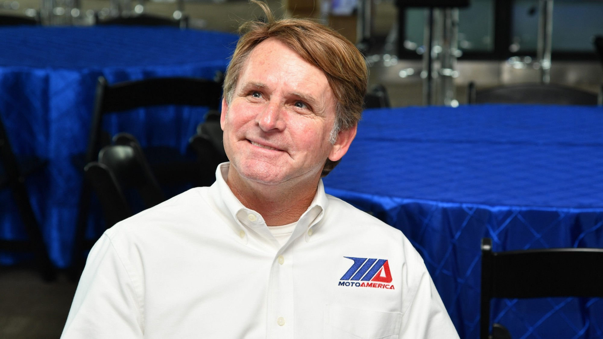A view of Wayne Rainey via bringing interest in superbike and supersport motorcycle racing back into mainstream attention in the USA and Canada.