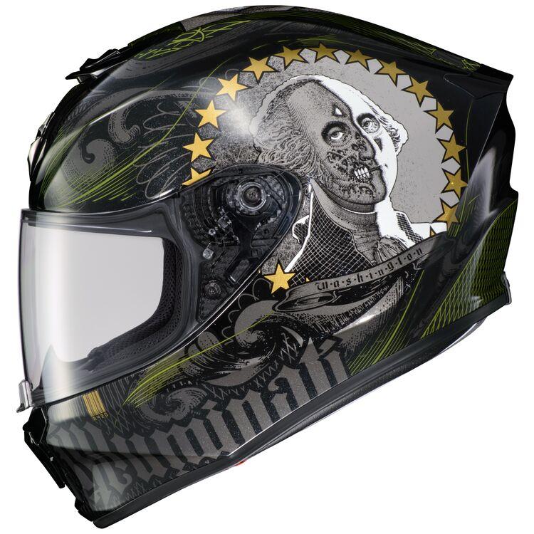 Scorpion EXO-R420 Illuminati 2 with George Washington skull graphic
