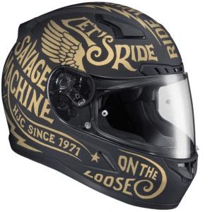 HJC CL Rebel Helmet Review - Motorcycle helmet decals graphicsmotorcycle helmet graphics the easy helmet upgrade