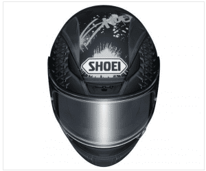 6600669c Wind pressure can cause serious damage to the helmet shield. Shoei has  taken proper measure to eliminate this problem. They have installed ribs on  both the ...