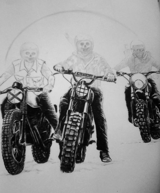 основе три богатыря на мотоциклах картинка будет забирать