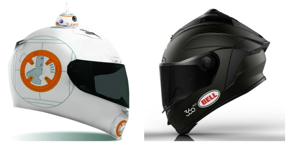 Star wars motorcycle helmets