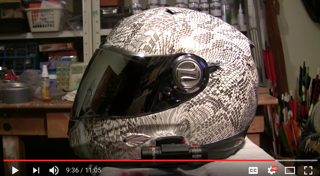 b2ad8d1deb1 How to Hydro Dip a Motorcycle Helmet and Other Hydrodipping Tips