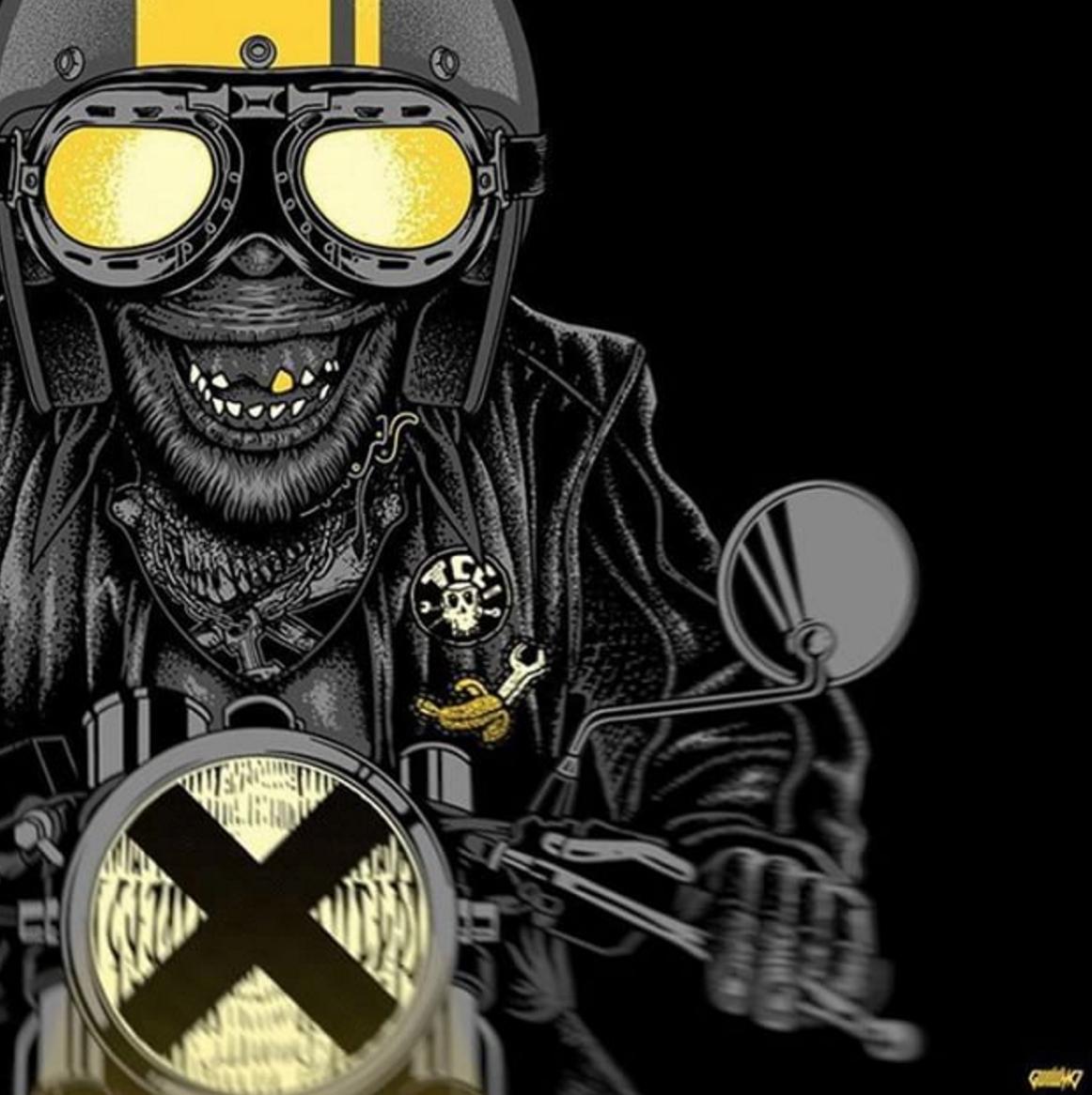 cafe racer motorcycle badass bike cool pasion awesome profile really badasshelmetstore moto monkey
